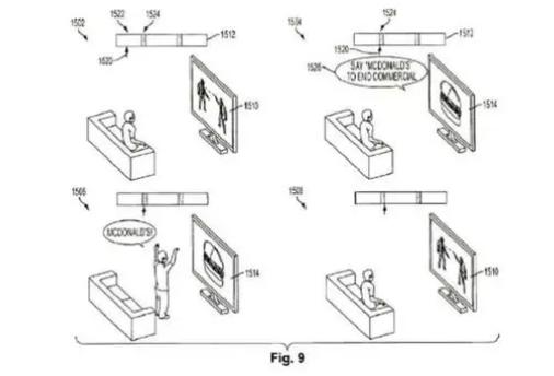 """索尼发明""""大喊一声,跳过广告""""的趣味专利~"""